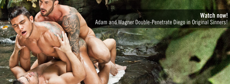 Original Sinners, Scene 4 Adam Killian and Wagner Vittoria Double-Penetrate Diego Lauzen