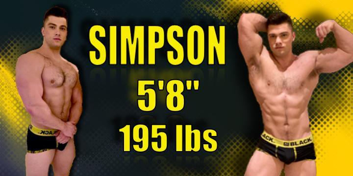 Wrestler Simpson