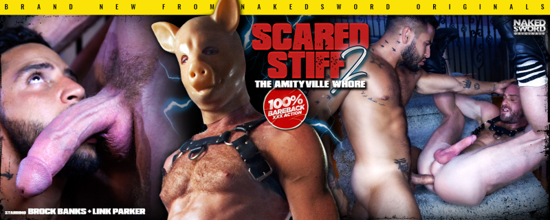 Scared Stiff 2: Amityville Whore Episode 5 Featuring Brock Banks & Link Parker