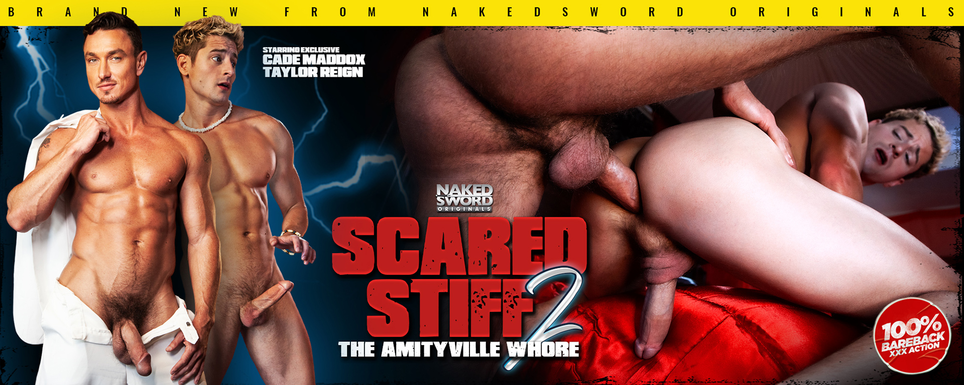 Scared Stiff 2: Amityville Whore Episode 2: Demon Semen Featuring Cade Maddox and Taylor Reign