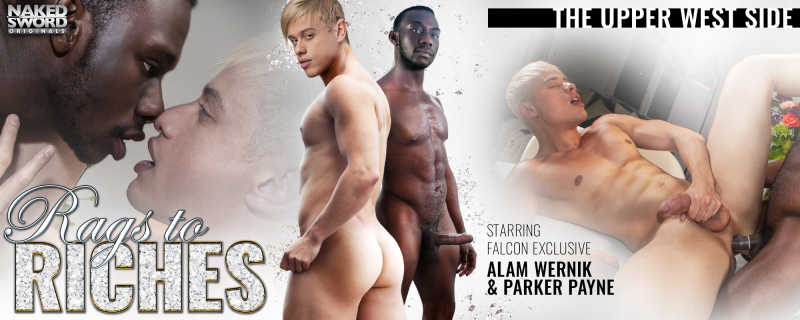 NakeSword Rags To Riches, Scene 2 Featuring Alam Wernik and Parker Payne