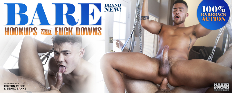 BARE: Hookups And Fuckdowns, Scene 3 Featuring Beaux Banks and Colton Reece