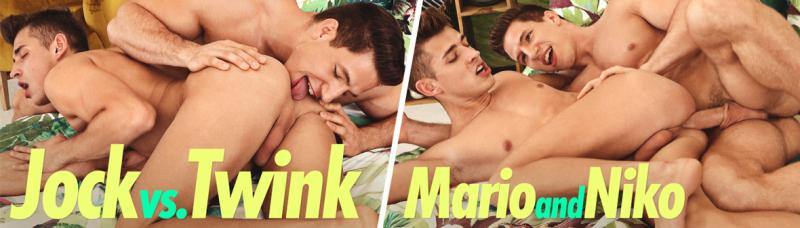 JOCK vs. TWINK... NIKO & MARIO