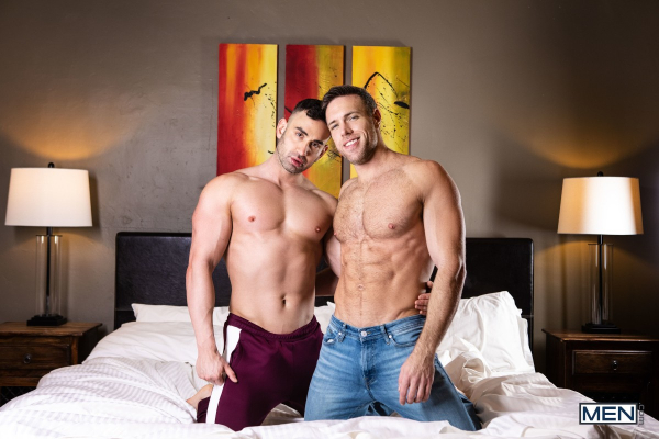 2 Beautiful Handsome Str8 Boys Go Gay 1st Time On