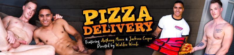 Next Door Studios Pizza Delivery Featuring Anthony Moore and Jackson Cooper