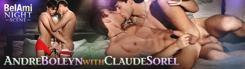 Night Scene Featuring Andre Boleyn and Claude Sorel