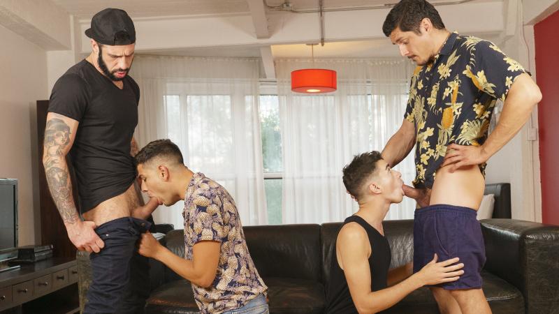 Stepdad Crush Featuring Alex Montenegro, Jake Nobello, Rocky Vallarta and Romeo Davis
