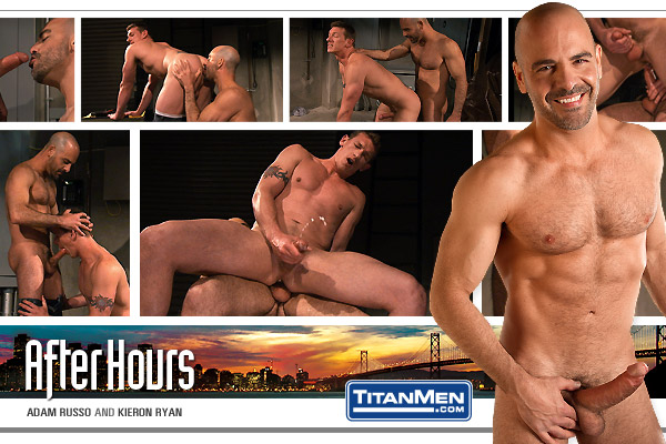 TitanMen After Hours, Scene 3 Featuring Adam Russo and Kieron Ryan
