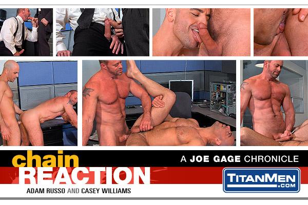 TitanMen Chain Reaction, Scene 3 Featuring Adam Russo and Casey Williams