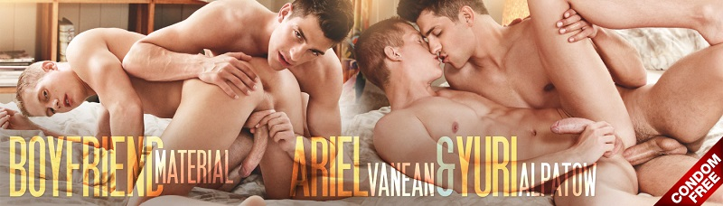 Boyfriend Material Ariel Vanean and Yuri Alpatow