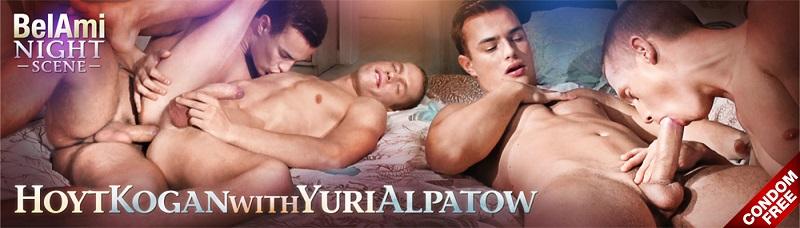 Night Scene Featuring Hoyt Kogan and Yuri Alpatow