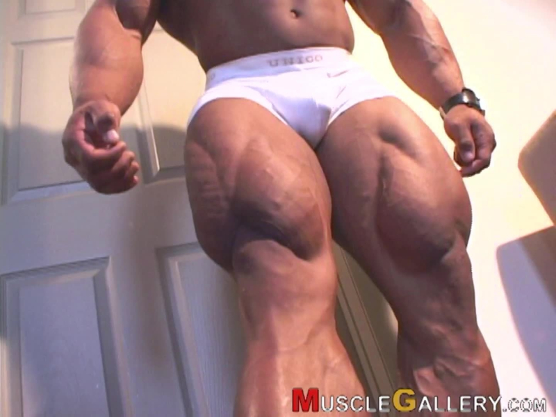 MuscleGallery Hardcore Gym Body Featuring Ray Arde