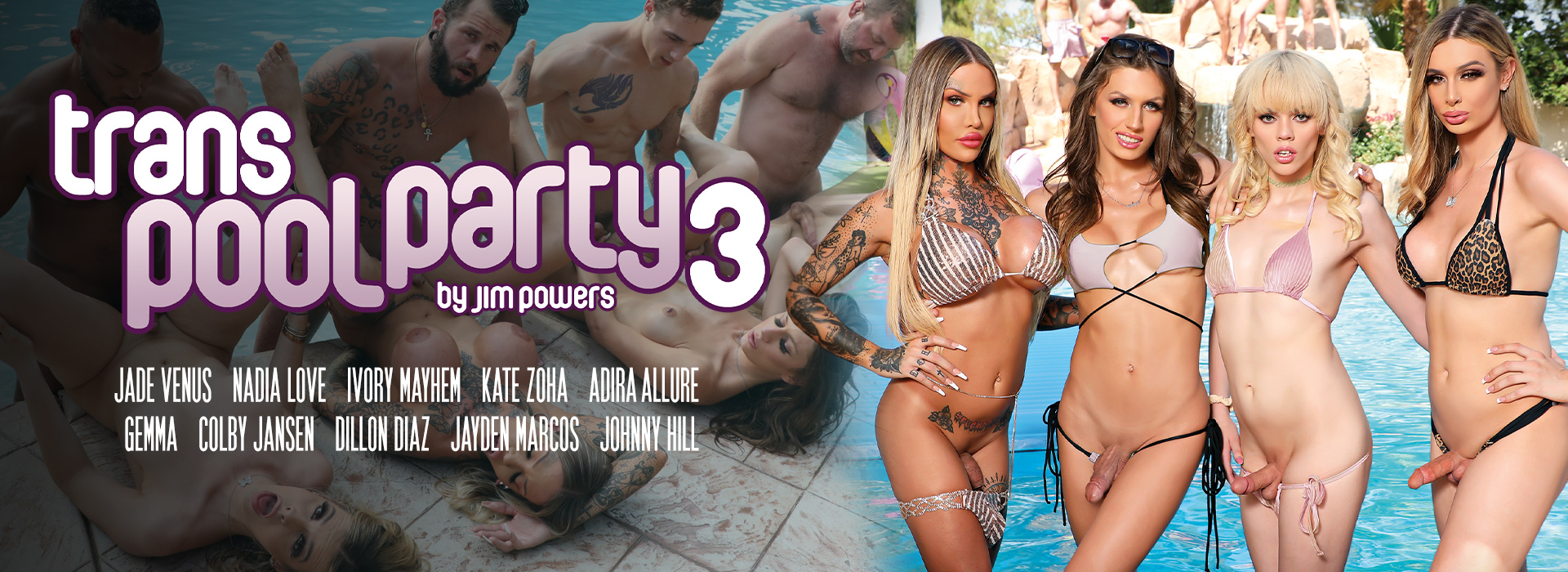 Gender X Trans Pool Party 3