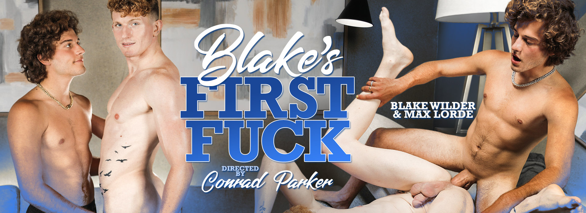 Stag Collective Blake's First Fuck Featuring Blake Wilder and Max Lorde